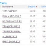 IRCTC Indian Railways Seat availability and Train fare enquiry